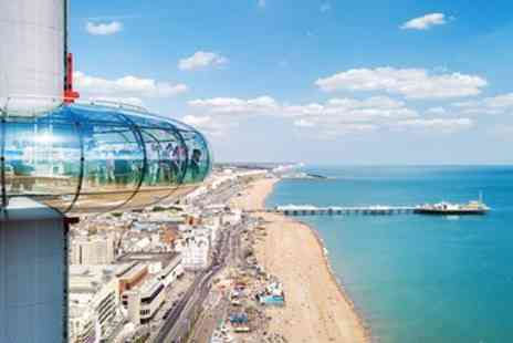 Brighton i360 - British Airways i360 ride & bubbly - Save 40%