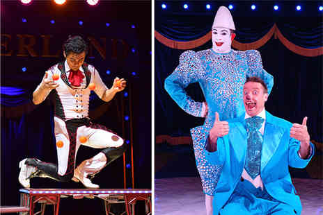 Circus World Entertainment - Side or front view ticket to Circus Wonderland - Save 42%