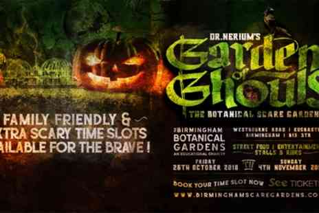 Birmingham Scare Gardens - Ticket to Birmingham Scare Gardens on 26 October to 4 November - Save 31%