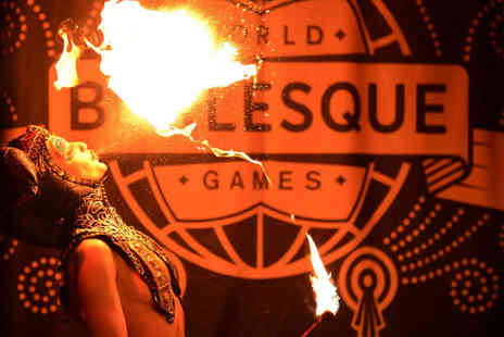 London Burlesque Fest - Seated ticket to the World Burlesque Games - Save 47%