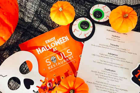 Souls Restaurant - Five course Halloween menu with witches brew for two - Save 55%