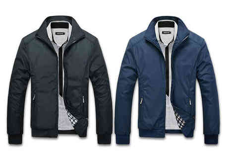 Blu Apparel - A classic harrington jacket choose from four colours - Save 68%