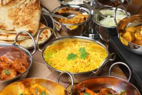 Masala Bag - Three Course Indian Meal with Naan for Up to Four - Save 40%