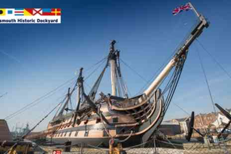 Portsmouth Historic Dockyard - Full Navy Annual Pass for Child, Adult, Senior or Student, or Family - Save 36%