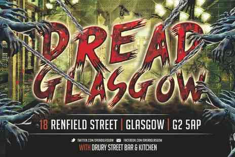 Dread Glasgow - Halloween Live Action ZombieZ Experience for two adults, family of four or eight adults - Save 54%