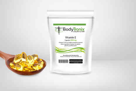 Bodytronix - A two month supply of vitamin E capsules - Save 46%