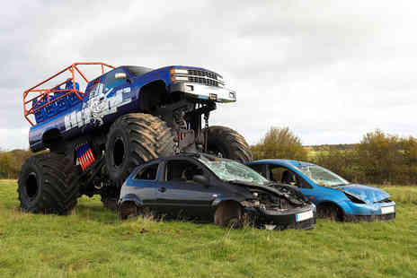 Chaos Leisure - Monster truck ride and car crawl experience for one or two - Save 52%