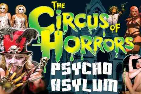 The Circus of Horrors - Ticket to The Circus of Horrors on 26 October to 12 January - Save 50%