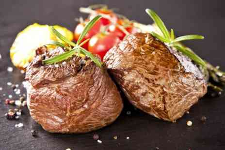 Bo Vine - Chateaubriand Steak with Sparkling Wine for Two or Four - Save 44%