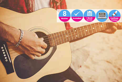 Live Academy Education - Online diploma in guitar basics - Save 98%