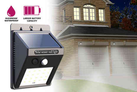 Magic Trend - One, two or four motion activated solar security LED light - Save 78%