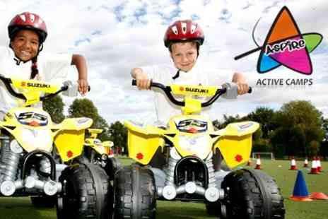 Aspire Active Camps - Five Days of Kids Summer Camp - Save 71%