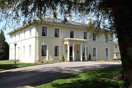 Eastwood Hall - Afternoon tea for two with leisure access or include a glass of Prosecco each - Save 37%