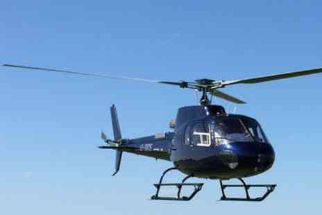 Heli Adventures - Helicopter Buzz or Pleasure Flight or Shropshire Sightseeing Tour - Save 28%