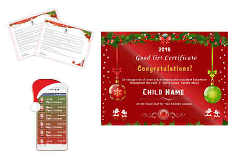 Good Santa List - Good Santa List bundle for one child - Save 60%