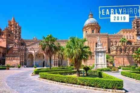 Cristal Palace Hotel - Four Star Cosy Hotel Stay For Two in Historic Centre of Palermo - Save 77%