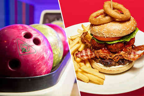 Frankie and Bennys - Two course a la carte dining for two people with one game of bowling - Save 63%