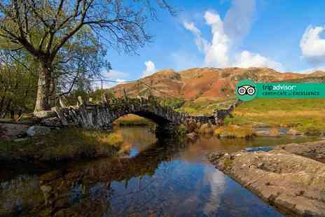 Brotherswater Inn - One, Two or three night stay for two with tea or coffee and cake on arrival, two course dinner and breakfast, or with dinner on the first night - Save 57%