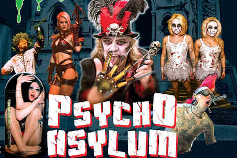 The Circus of Horrors - Grandstand entry ticket to Circus of Horrors Psycho Asylum choose from three locations - Save 46%
