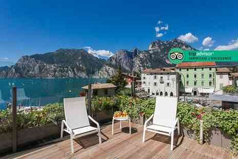 Bargain Late Holidays - Three or four night 4 Star Lake Garda getaway with breakfast and return flights - Save 37%