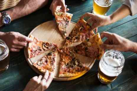 Truth And Alibi - Pizza and Beer for Two or Four Each - Save 58%