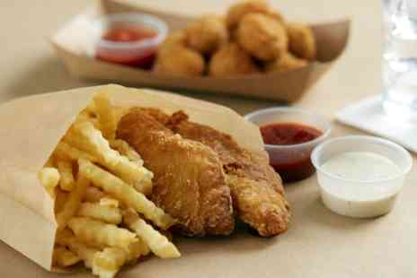 Traditional Fish & Chips - Fish and Chips Meal for One, Two or Four - Save 0%
