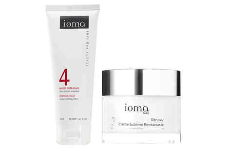 Trojan Electrical - Loma calming mask and revitalising night cream set - Save 84%