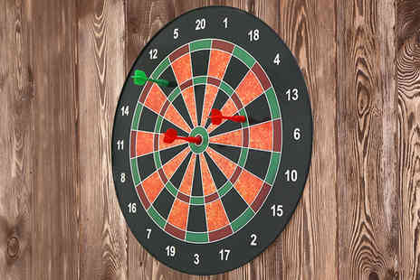 Who Needs Shops - 16 Inch magnetic kids dartboard - Save 77%