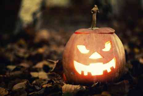JC Farming - Halloween Maze and Pumpkin Carving for Three or Four - Save 39%