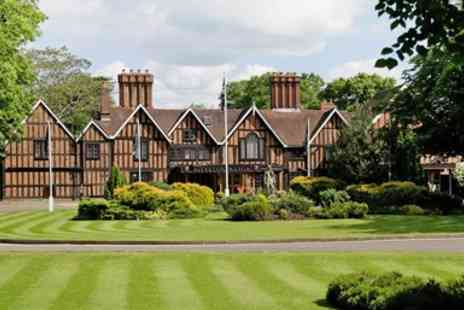 Macdonald Alveston Manor Hotel - Stunning Stratford spa day inc treatments And bubbly - Save 57%