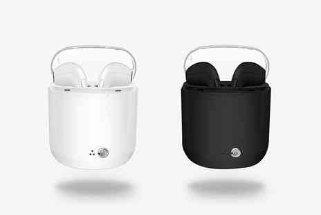 Magic Trend - Pair of Apple Compatible wireless earbuds with charging case - Save 78%