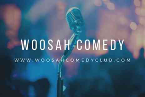 Woosah Comedy Club - One or two entry tickets to a choice of Woosah Comedy Club event on 12 October To 1 February - Save 50%