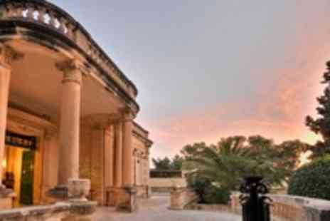Corinthia Palace Hotel and Spa - In Malta Two Night Stay For Two With Breakfast and Wine - Save 48%