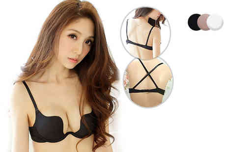 Trifolium Lingerie - Multiway pushup bra choose from three colours - Save 62%