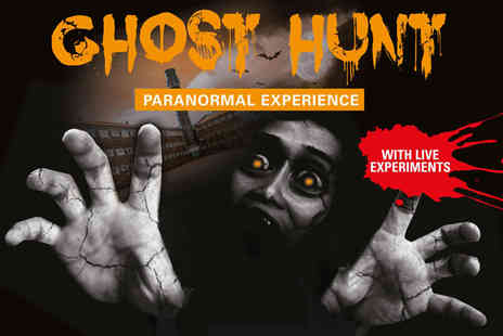 Crumlin Road Gaol - Paranormal ghost hunt tour ticket - Save 25%