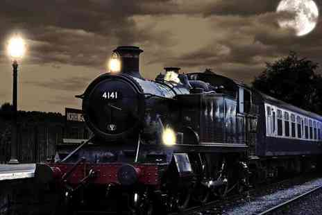 Epping Ongar Railway - 4 person family ticket to a Halloween ghost train experience on Sunday 28th October - Save 37%