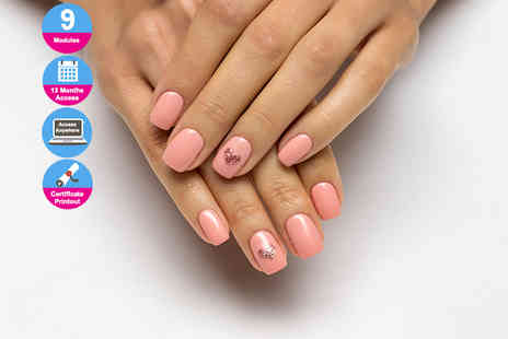 E Careers - Professional gel nail technician diploma - Save 91%