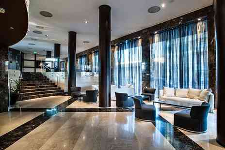 Crowne Plaza Milan City - Four Star Modern Design Hotel Stay For Two in Business District - Save 80%