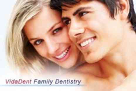VidaDent - Dental Examination With X Rays and Polish - Save 70%