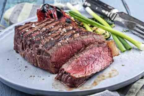 How Do You Do - 8oz Rump Steak with Bottle of Wine for Two or Four - Save 41%