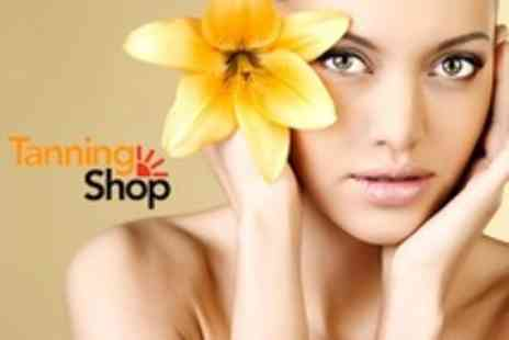 The Tanning Shop - Ten Skin Revitalisation Sessions With iRenew Red Light System - Save 75%