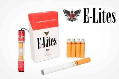 E-Lites - E200 Electronic Cigarette Starter Kit Plus an E Tip Tube with 2 Extra Refills - Save 61%