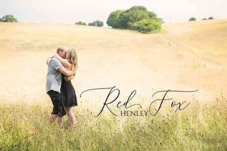 Red Fox - Engagement photoshoot with free print - Save 94%