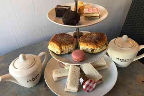 LilyAnnes Coffee Bar - Afternoon Tea or Festive Afternoon Tea for Two or Four - Save 26%