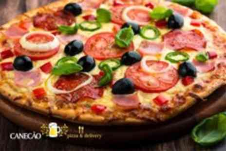 Canecao - Pizza feast for 2 including a large pizza each and dessert pizza to share - Save 51%