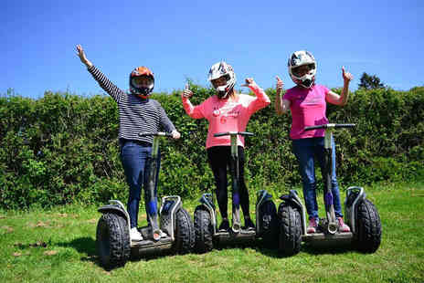 Segway Unleashed - Off road Segway experience for one or two - Save 69%