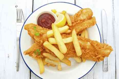 Good Catch - Fish Meal with Tea for Two or Four - Save 32%