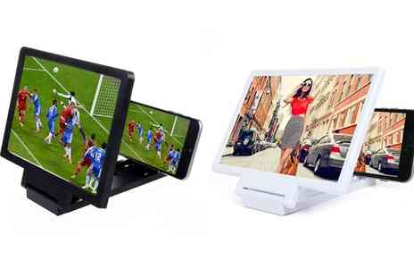 Groupon Goods Global GmbH - One or Two Smartphone Screen Amplifiers - Save 0%