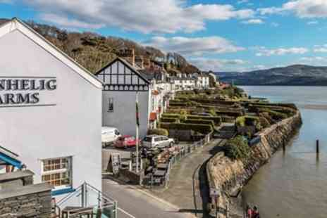 Penhelig Arms - Two night coastal getaway with breakfast - Save 53%
