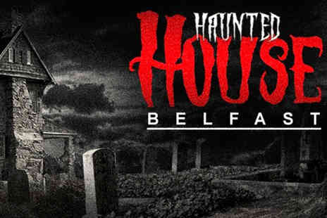 Belfast City Tours - Entry for one to The Haunted House with City Tours Belfast - Save 25%